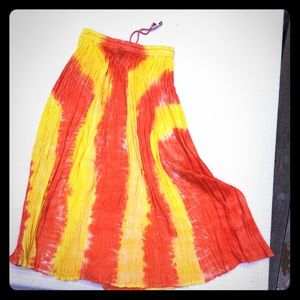 Shop Therapy boho maxi skirt